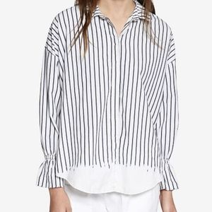Sanctuary Hazel Yardstripe Boy Shirt